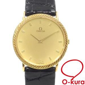 値下げしました オメガ 腕時計 ボーイズ クォーツ K18YG 中古|o-kura