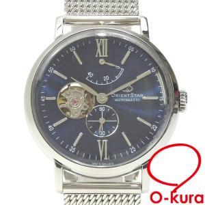 値下げしました オリエントスター 腕時計 メンズ オートマ SS DK03-C0-B メンズウォッチ 自動巻き 機械式 裏スケルトン 中古|o-kura
