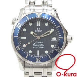 オメガ 腕時計 シーマスター 300 ボーイズ オートマ SS 2551.80 自動巻き レディース メンズ 中古|o-kura
