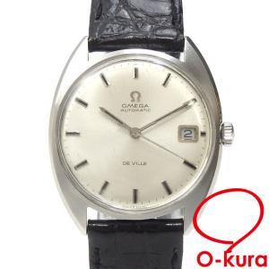 オメガ 腕時計 デビル メンズ オートマ SS 革ベルト 自動巻き 社外ベルト 中古|o-kura