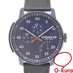 コーチ 腕時計 メンズ クォーツ SS 革ベルト CA.17.2.34.1464 電池式 メンズウォッチ 中古|o-kura