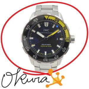【値下げしました】 IWC 腕時計 アクアタイマー オートマ...