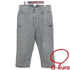 ドルチェ&ガッバーナ パンツ メンズ 七分丈 ウール グレー サイズ44 古着 アパレル 洋服 中古|o-kura