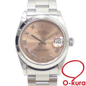 ロレックス ROLEX デイトジャスト ボーイズ 68240 オートマ U番 1997年頃製 SS 腕時計 自動巻き 機械式 レディース メンズ 中古 o-kura