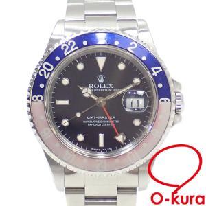 ロレックス ROLEX GMTマスター メンズ 16700 オートマ T番 1996年頃製 SS 腕時計 自動巻き 機械式 中古 o-kura