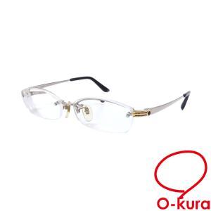 ブルガリ メガネフレーム 度入り メンズ シルバー ブラック 眼鏡 アイウェア 中古|o-kura