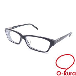 バーバリー メガネフレーム 度入り メンズ ブラック 黒 眼鏡 アイウェア 中古|o-kura