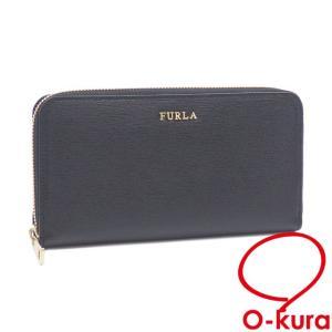 フルラ ラウンドファスナー 長財布 中古 未使用品 o-kura