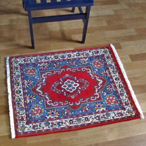 ペルシャ絨毯・サルーク、玄関マットサイズ 84×66cm o-moon