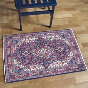 ペルシャ絨毯・サルーク、玄関マットサイズ 95×64cm o-moon