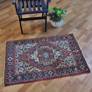 ペルシャ絨毯・ゴルトク、玄関マットサイズ 116×76cm o-moon