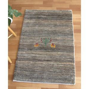 ギャッベ ギャベ/シェカルー、細かめのしなやかな織 玄関マットサイズ 115×77cm o-moon