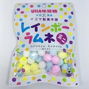 送料無料 関西限定 UHA味覚糖 レインボーラムネ ミニ 1箱(6P入り) 40g
