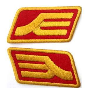 機動戦士ガンダム ワッペン ジオン軍階級章 RED【予約 再販 2月中旬 発売予定】|o-trap