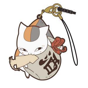 夏目友人帳 つままれストラップ ニャンコ先生【予約 再販 12月上旬 発売予定】|o-trap