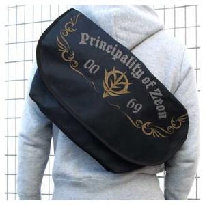 機動戦士ガンダム 刺繍メッセンジャーバッグ ジオン軍【予約 再販 3月下旬 発売予定】|o-trap