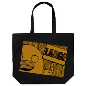 メール便対応商品   『エリザベス』をプリントした大容量トートバッグ。  ・イベントやお買い物で活躍...