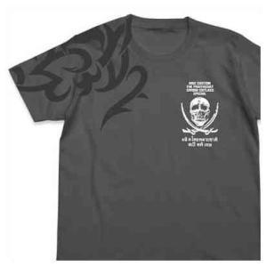 メール便対応商品   レヴィのタトゥーと愛銃のモチーフをプリントしたTシャツ。   ※縫製製品は特性...