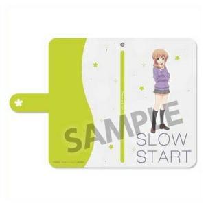 スロウスタート 手帳型スマートフォンケース 十倉栄依子 o-trap