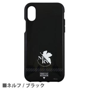 ヱヴァンゲリヲン 新劇場版 IIIIfit iPhoneX対応ケース EV-125B ネルフ/ブラック|o-trap