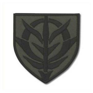機動戦士ガンダム ワッペン ロービジタイプ ジオン ステンシルマーク|o-trap