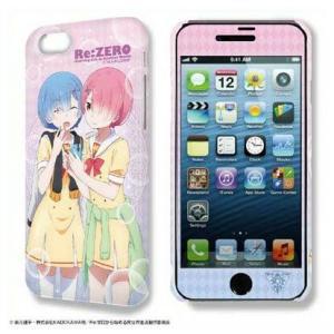 Re:ゼロから始める異世界生活 デザジャケット iPhone 7/8ケース&保護シート Ver.2 デザイン02 レム&ラム【予約 再販 9月下旬 発売予定】|o-trap