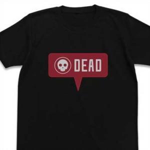 ソードアート・オンライン オルタナティブ ガンゲイル・オンライン Tシャツ You are dead BLACK-S【予約 再販 9月下旬 発売予定】|o-trap