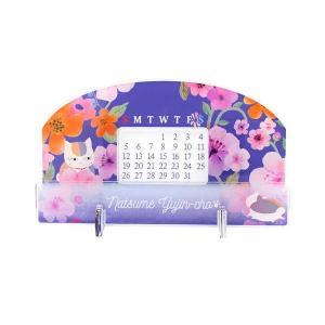 夏目友人帳 アクリル万年カレンダー ニャンコ先生【予約 02/中 発売予定】|o-trap