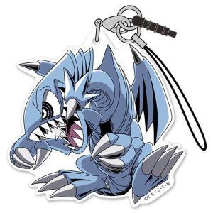 遊☆戯☆王 デュエルモンスターズ アクリルストラップ ブルーアイズ・トゥーン・ドラゴン|o-trap
