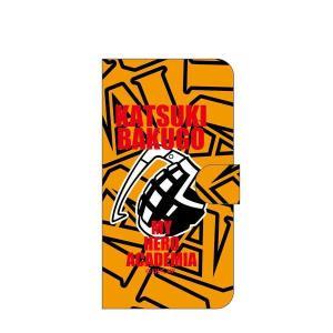僕のヒーローアカデミア 手帳型スマホケース 爆豪勝己 Mサイズ o-trap