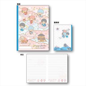 メール便対応商品   「銀魂×サンリオ characters」より、B5ノートが登場!  【サイズ】...