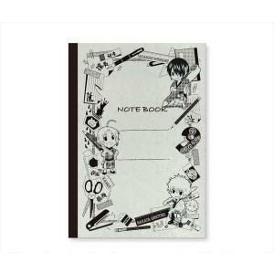 メール便対応商品   「銀魂」より、描き下ろし作画を使用した、レトロで可愛いクラシックノートが登場!...