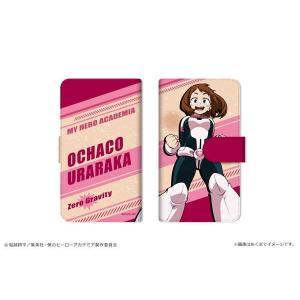 僕のヒーローアカデミア ダイアリースマホケース for マルチサイズ【M】 03 麗日お茶子|o-trap