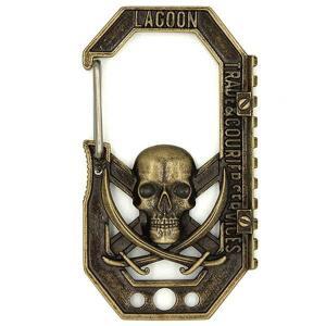 メール便対応商品   「BLACK LAGOON」より、レリーフカラビナが登場! 一緒に鍵や小物を持...