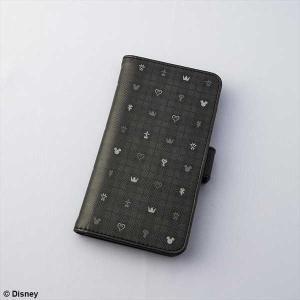 キングダムハーツ III 手帳型スマートフォンケース モノグラム|o-trap
