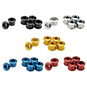 GP(ギザプロダクツ) チェーンリング フィキシングボルト セット (シングル用)(同色5 個セット)/Chainring Fixing Bolt Set(Single) (YCK001)(GIZA PRODUCTS) o-trick