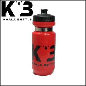 KOALA BOTTLE コアラボトル 21oz/621ml レッド(ボトル&マグネットリング) ボトルケージ別売り|o-trick