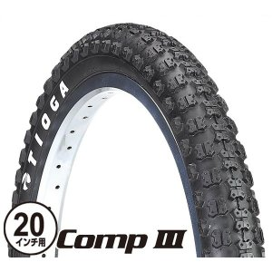 TIOGA(タイオガ) コンプ III/Comp III (TIR193)(20inch/20インチ)(1-1/8(451) 〜 1-3/8inch(451))(小径車用/BMX用)(タイヤ)(自転車用)|o-trick