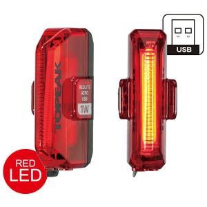トピーク レッドライト エアロUSB 1W/RedLite Aero USB 1W リアライト TOPEAK o-trick