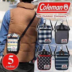 コールマン Coleman 2wayショルダーバッグ ポーチ C−パスポートポケット C-SERIES Cシリーズ C-PASS PORT POCKET 27212