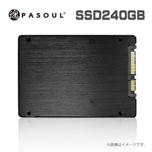 SSD 5年国内保証 新品 2.5インチ 内蔵型SSD 240GB SATA 6Gbps 3D NAND TLC Read(MAX)550 Write(MAX)430MB/s 送料無料 ヤマト運輸発送 あんしんお届け