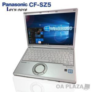 中古パソコン ノートパソコン カメラ Windows10 第6世代Corei3 フルHD Microsoftoffice2019 SSD128GB USB3.0 Bluetooth 12型 Panasonic レッツノート CF-SZ5|oa-plaza