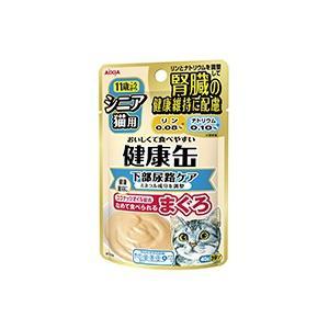 アイシア 健康缶パウチ シニア猫用 下部尿路ケア 40g【シニア猫用】