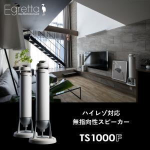 スピーカー Egretta エグレッタ TS1000F ハイレゾ対応 無指向性タワー型スピーカー ホ...