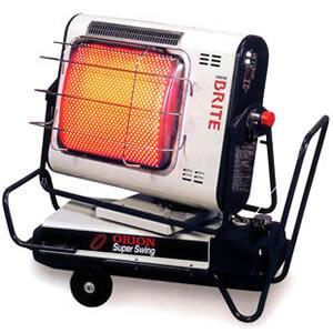 ジェットヒーターBRITE 赤外線暖房機 自動首振り機能付 HRS330 オリオン機械(株) oasis-happylife