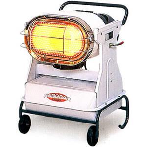 ジェットヒーターBRITE 赤外線暖房機ロボ暖 HR120D オリオン機械(株) oasis-happylife