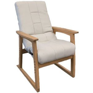 円背椅子 やすらぎ2 アイボリー NOEC-リヨンIV|oasis-happylife