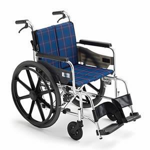 送料無料 miki ミキ 介護用品 車いす 車椅子 自走型 ワイドタイプ 自走式車椅子 KJP-2M...