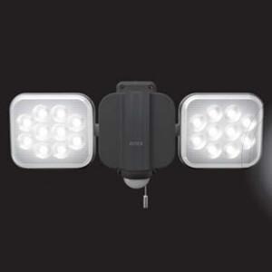 RITEX フリーアーム式 LED センサーライト LED-AC2024 (株)ムサシ 12Wx2 ...