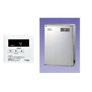 石油給湯器 給湯専用貯湯式ボイラー 屋外設置/前面排気型 UIB-NX46R(MSD) CORONA(コロナ) リモコン付 高級ステンレス外装|oasis-happylife